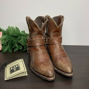 Frye billy harness short boots